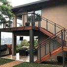 Modern Outdoor Stair Railing Designs And Ideas That Actually Make Sense
