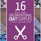 Cheap Craft Supplies