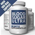 BigBottleSupplements.com Blood Sugar Ultra - OVER 100 Day Supply, Blood Sugar Support Supplement - Helps Support Healthy Blood Sugar Control with Alpha Lipoic Acid & Cinnamon - 220 Pills