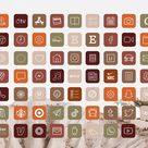 Boho Ios14 App Icons for Iphone Aesthetic  62 App Icons Pack | Etsy