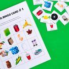 Recycling Bingo Printable Game for Kids