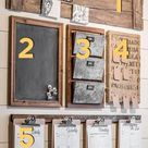 A DIY Home Command Center with a touch of farmhouse charm