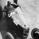 GP of Italy 1925 Monza , Alfa romeo P2 5 , Driver Giuseppe Campari , second place overall ,