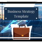 Business Strategy Template (digital download)