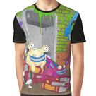 Aaahh!!! Real Monsters Nickelodeon Group Graphic T-shirt by AbbysRadArt