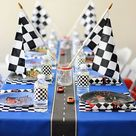 Race Car Party  4 x 6 Table Top Sign  EDITABLE PDF Take a   Etsy