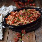 Spanish Chicken - Spanische Reispfanne mit Ofenhühnchen