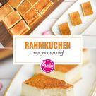 Cremiger Rahmkuchen / SALLYS WELT