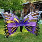 """Butterfly Garten Bank / Schmetterlingsbank """" Weltweit einmaliges UNIKAT """" Handarbeit"""