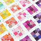"""Erica Taylor Jackman on Instagram: """"The rainbow version of the #modernpostagestampquilt is up on the blog today! I love rainbow quilts and I love scrap quilts, so of course I…"""""""