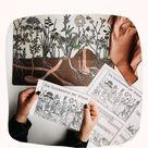 Stockwerke der Wiese Materialpaket - Miniheft, Tafelmaterial, Texte & Poster in 2021   Text poster,