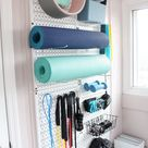 Set Up A Small Home Gym On A Budget   Organized ish by Lela Burris
