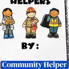 Community Helper  Folder Book Who Am I?