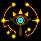 Sheikah symbol iPhone wallpaper