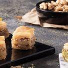 Gluten Free Baklava with Pistachio - 1 Kg.