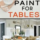 Best Types of Paint for Kitchen Tables - Painted Furniture Ideas