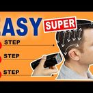 QUICK & EASY HOME HAIRCUT TUTORIAL    How To Cut Men's Hair With Clippers S2