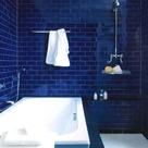 Blue Tile Bathrooms
