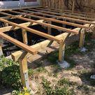 Wie wird eine Holzterrasse am Hang verlegt   Betterwood