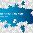 Free Puzzle Pieces PowerPoint Template - Free PowerPoint Templates - SlideHunter.com