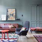 Wandfarbe im Wohnzimmer » Farbtrends &  kombinationen   OTTO