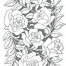 25 Coloring Pages Of Flowers And Hearts - Blogx.info