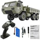 LeadingStar 2.4GHz 6WD Rc Car Proportional Control US Army Military Truck Toy - With camera 1B