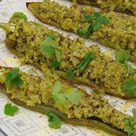 Pimientos italianos rellenos de quinoa y aguacate   Tasty details