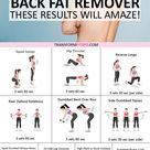 💪How to Tone My Upper Body Quickly! Rapid Results Back Fat Removal. These Results are Amazing…