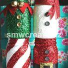 Christmas Mason Jar of Your Choice / Christmas Decor/   Etsy