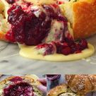 Baked Cranberry Brie Bread Bowl
