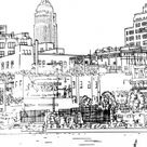Dessin new york - New York Coloring Pages for Adults - Just Color