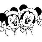 Kids-n-Fun | 48 Kleurplaten van Kerstmis Disney