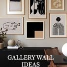 GALLERY WALLINSPIRATION IDEAS HOME DECOR WALL POSTER HOME DECOR IDEAS