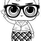 Desenhos da boneca LOL para imprimir e colorir - Blog Ana Giovanna