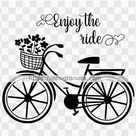 Bicycle SVG | Enjoy the ride SVG