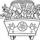 Collection of Scooby Doo Coloring Page Set - Coloring Pages