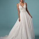 Maggie Sottero   Melody Ivory over Soft Blush sz 10   Was $1514 Now $899