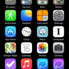 Invisible iOS Home Screen Icons