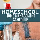 A Weekly Cleaning Schedule for the Homeschool Mom - The Fervent Mama