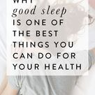 Why Good Sleep Is One of the Best Things You Can Do for Your Health // Four Wellness Co.
