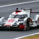 Le Mans Vortest 2015 Porsche fährt Bestzeit