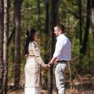 Surprise Engagement Shoot In The Woods!