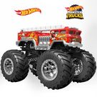Hot Wheels Monster Truck 5 ALARM   Officially Licensed Mattel Removable Wall Adhesive Decal Giant Character +2 Decals 50