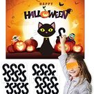 Amazon.com: Joy Bang Halloween Party Games for Kids Pin The Tail on The Halloween Black Cat Game Halloween Pin The Tail Game Party Activities Pin Game Party Favors for Children : Toys & Games