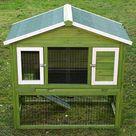 Kaninchenstall mit Auslauf günstig online kaufen