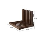 Folding Wooden Shower Chair Bench For Elderly Wall Mounted Bathroom Shower With Seat