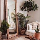 Divine Traditional Beveled Full Length Mirror