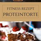 Fitness Rezept: Himbeer-Proteintorte ohne Zucker und Mehl