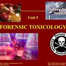 6-1 ©2011, 2008 Pearson Education, Inc. Upper Saddle River, NJ FORENSIC SCIENCE: An Introduction, 2 nd ed. By Richard Saferstein FORENSIC TOXICOLOGY. -  ppt download